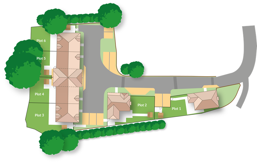 Blackberry Court Site Plan