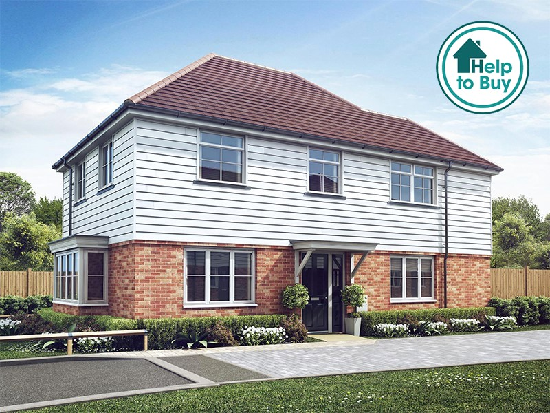 New Homes Blackberry Court, Charing, Kent, TN27 0AE - Plot 1