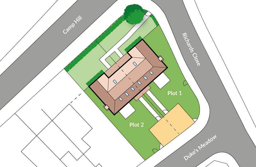 Stonelake Cottages Site Plan