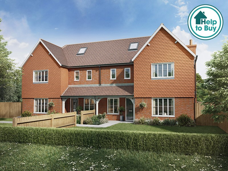 New Homes Stonelake Cottages, Chiddingstone Causeway, Kent TN11 8LB - Plot 1