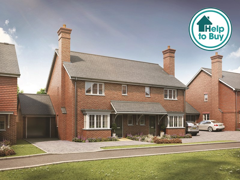 New Homes The List, Littlebourne, Canterbury, Kent, CT3 1TP - Plot 1