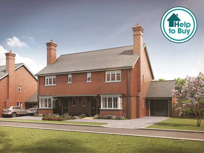 New Homes The List, Littlebourne, Canterbury, Kent, CT3 1TP - Plot 3