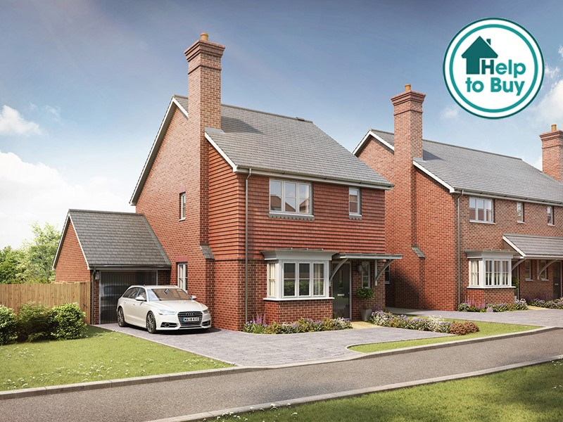 New Homes The List, Littlebourne, Canterbury, Kent, CT3 1TP - Plot 5
