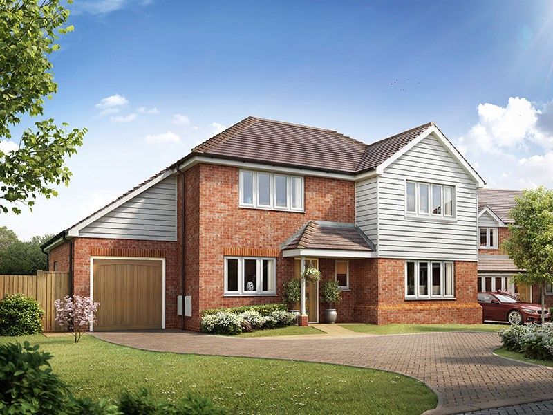 New Homes , The Tracies, Newington, Kent, ME9 7TQ - Plot 1