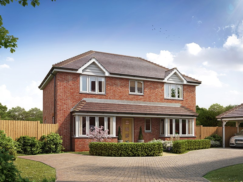 New Homes , The Tracies, Newington, Kent, ME9 7TQ - Plot 2