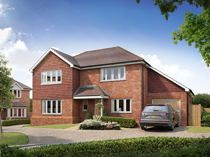 New Homes , The Tracies, Newington, Kent, ME9 7TQ - Plot 3
