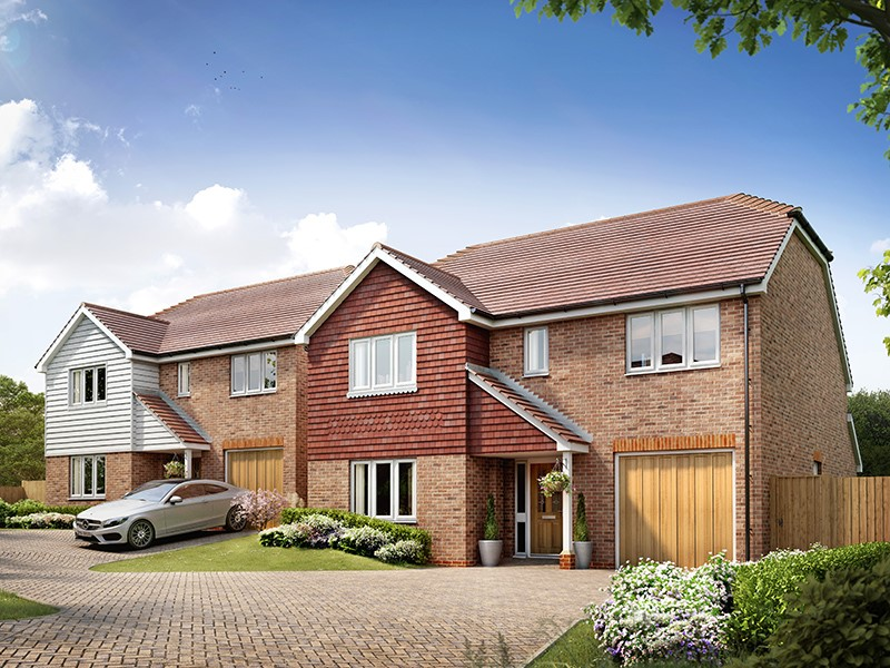 New Homes , The Tracies, Newington, Kent, ME9 7TQ - Plot 4